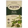Alvita Teas, オーガニック、イラクサ茶、カフェインフリー、ティーバック24袋、1.69オンス(48 g) (Discontinued Item)