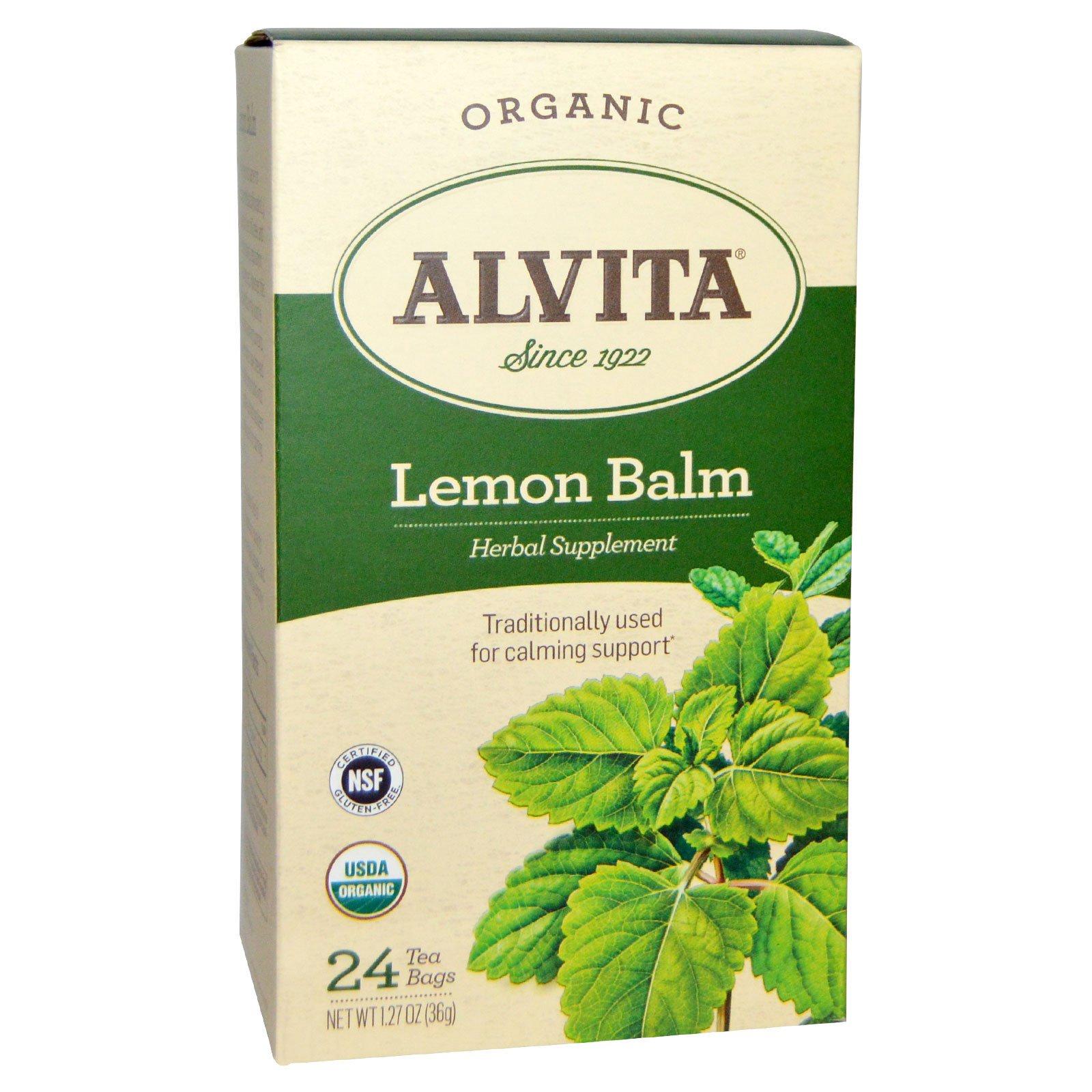 Where to buy lemon balm tea bags