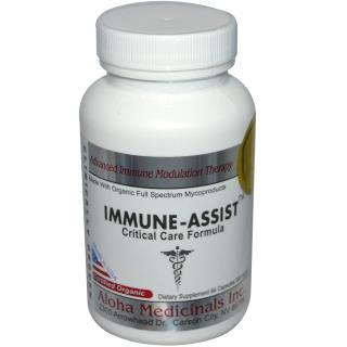 Aloha Medicinals Inc., Immune-Assist, Critical Care Formula, 500 mg, 84 Capsules