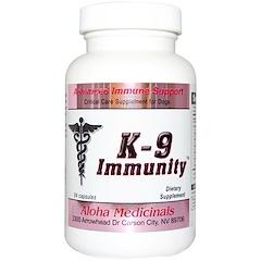 Aloha Medicinals Inc., K-9 Immunity for Dogs, 84 Capsules