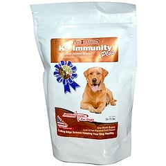 Aloha Medicinals Inc., K9 Immunity Plus, For Medium Dogs, Liver & Fish Flavored, 60 Soft Chews