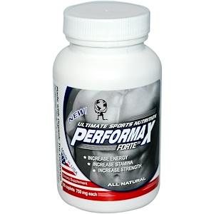 Алоха Медисиналс Инк, Performax Forte, Ultimate Sports Nutrition, 750 mg, 90 Caplets отзывы