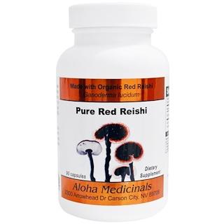 Aloha Medicinals Inc., Pure Red Reishi Capsules, 90 Capsules