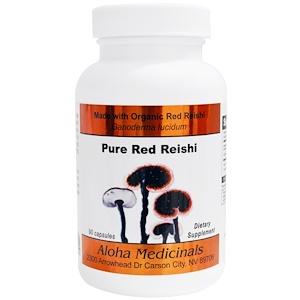 Алоха Медисиналс Инк, Pure Red Reishi Capsules, 90 Capsules отзывы