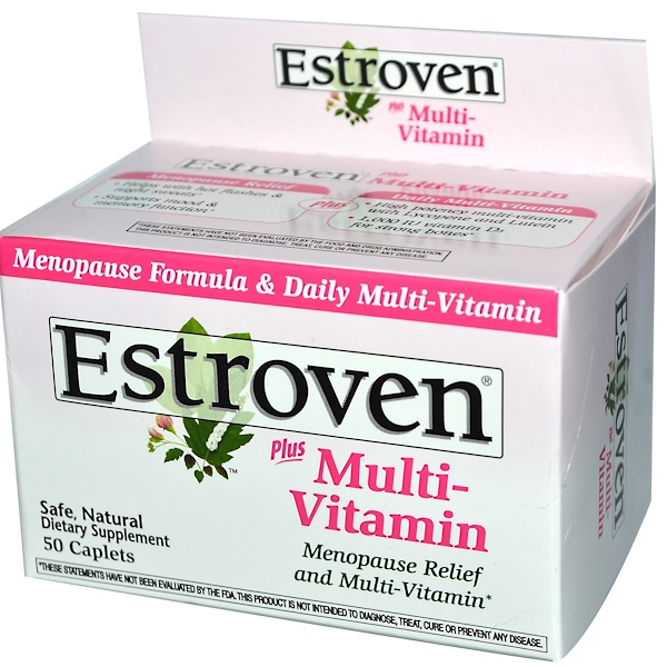 Estroven, Estroven, Plus Multi-Vitamin, 50 Caplets (Discontinued Item)