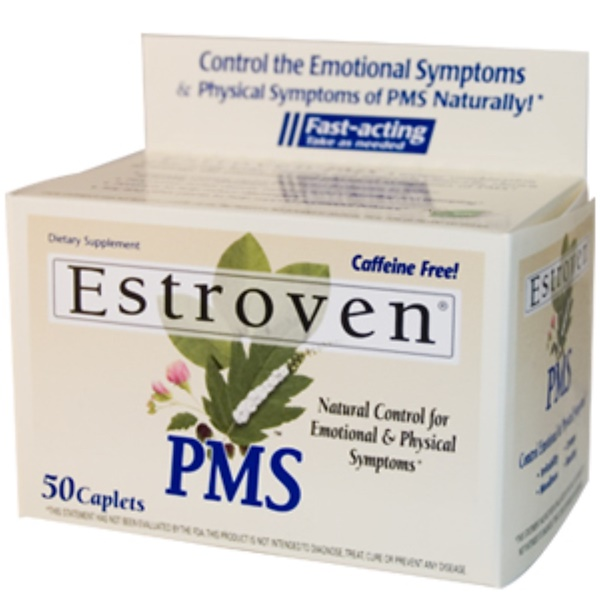 Estroven, Estroven, PMS, 50 Caplets (Discontinued Item)