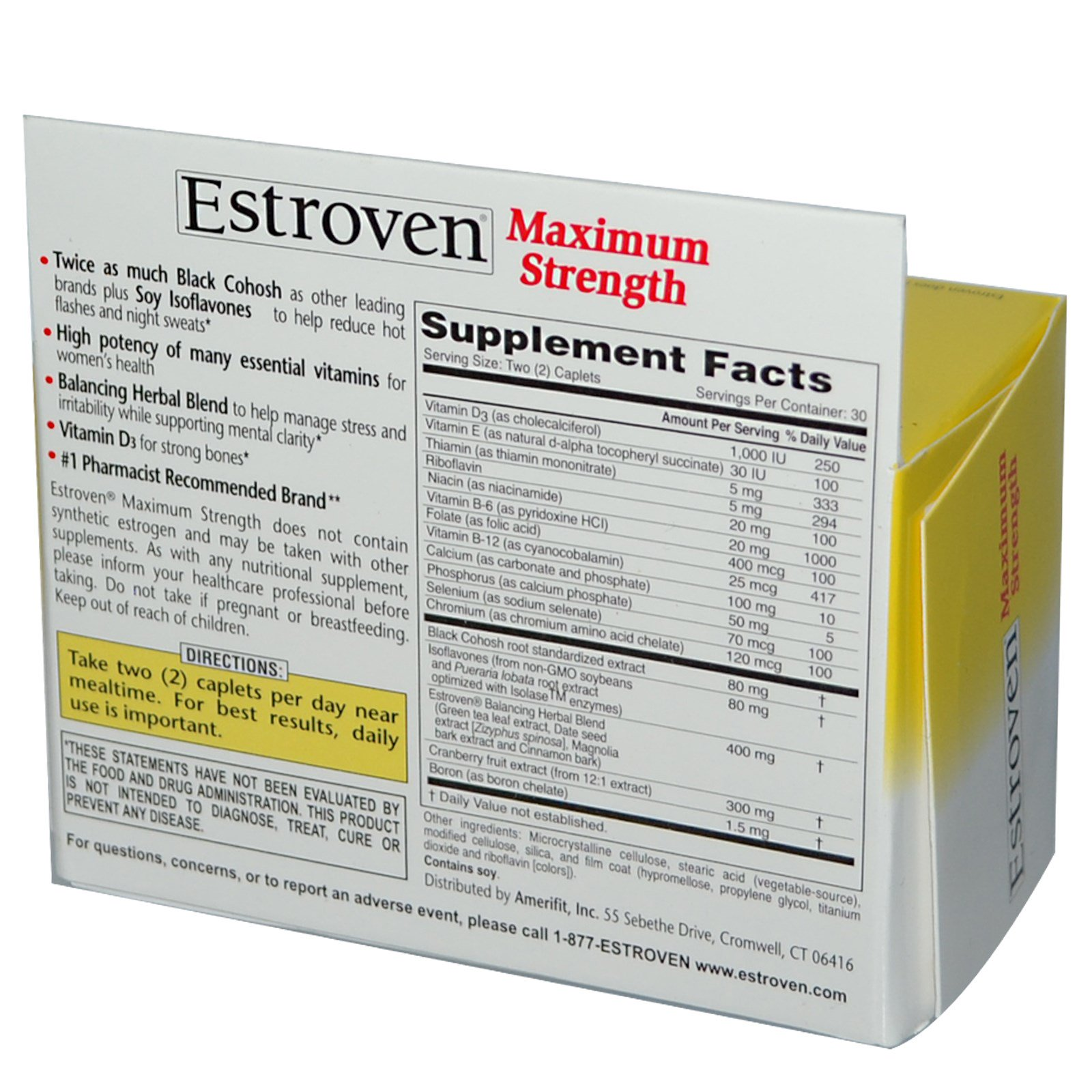 Estroven maximum strength reviews side effects