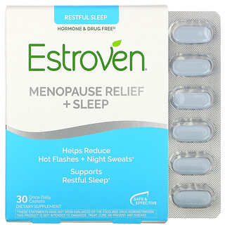 Estroven, Menopause Relief + Sleep, 30 Once Daily Caplets