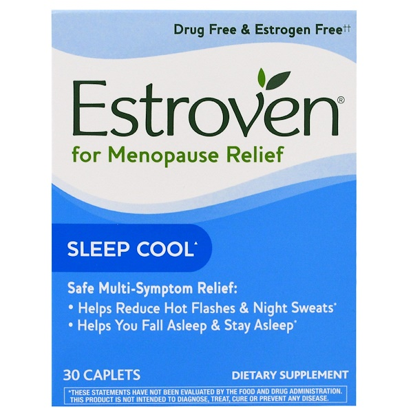 Menopause Relief, Sleep Cool, 30 Caplets