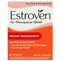 Средство при менопаузе, контроль веса, 30 капсул - фото