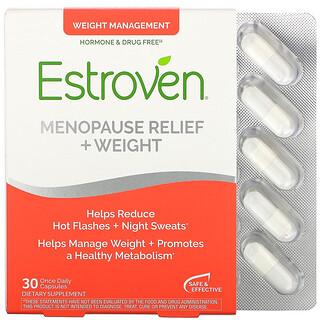 Estroven, 每日一粒更年期 / 体重管理支持胶囊,30 粒装