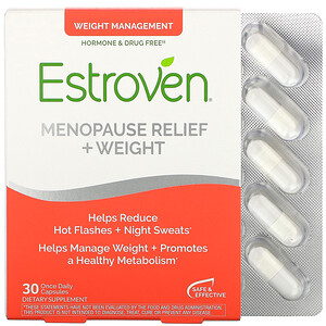 Эстровен, Menopause Relief + Weight, 30 Once Daily  Capsules отзывы