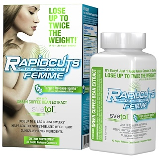 FEMME, Rapidcuts Femme, Rapid Fat Burning Catalyst, 42 Rapid Release Capsules
