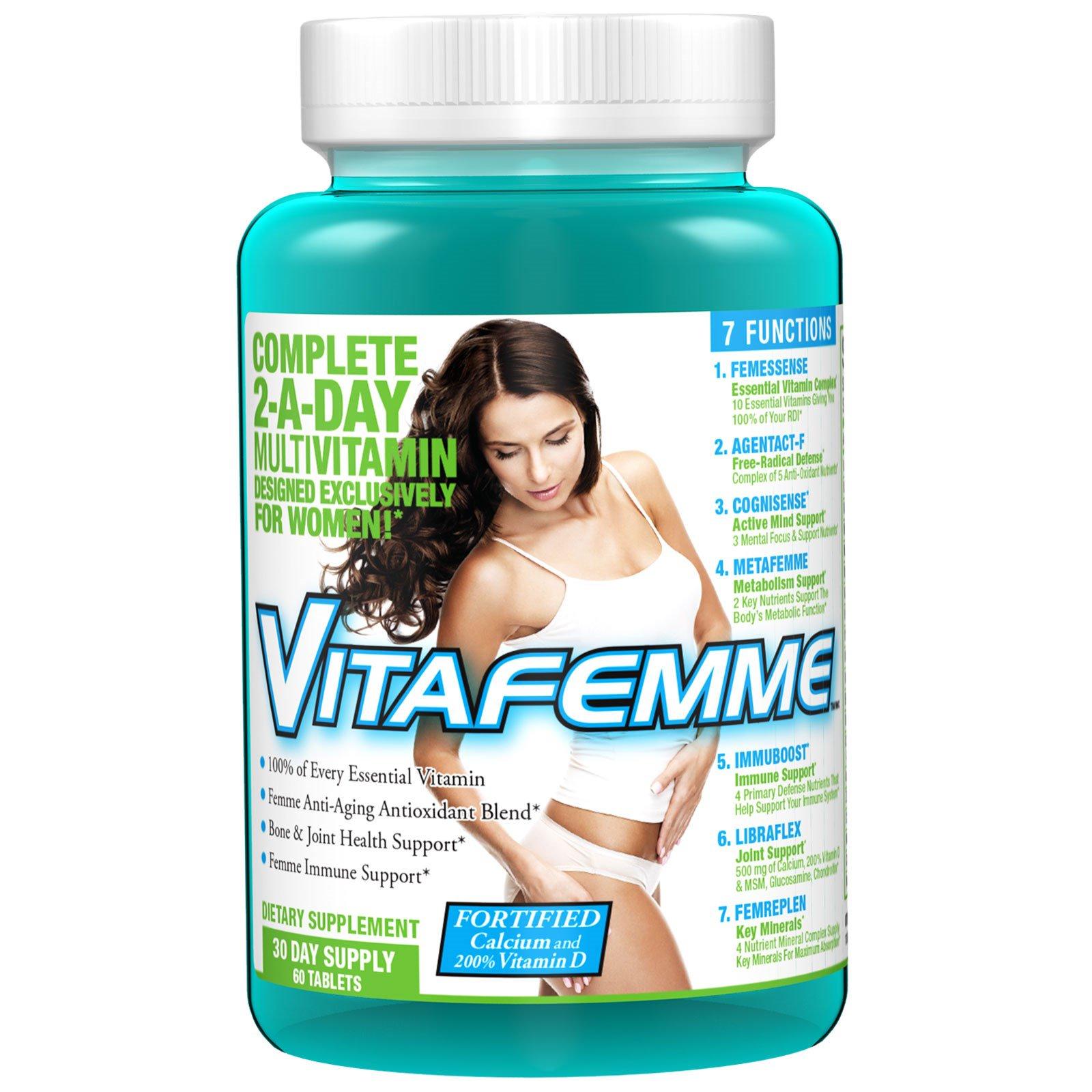 FEMME, Витафемм, поливитамины, 60 таблеток