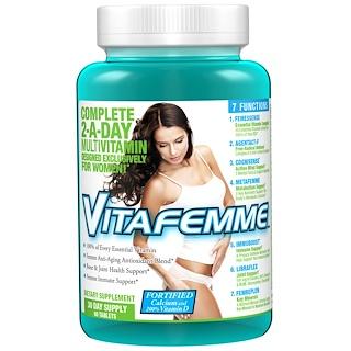FEMME, Vitafemme, Multivitamin, 60 Tablets