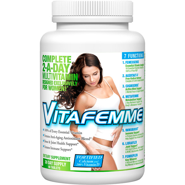 FEMME, Vitafemme, Complete 2-A-Day Multivitamin, 60 Tablets (Discontinued Item)