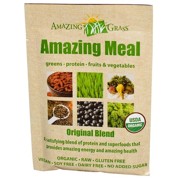 Amazing Grass, Amazing Meal, Original Blend, 22 g (Discontinued Item)