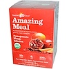 Amazing Grass, Amazing Meal, Pomegranate Mango Infusion, 10 Individual Packets, 29 g Each (Discontinued Item)