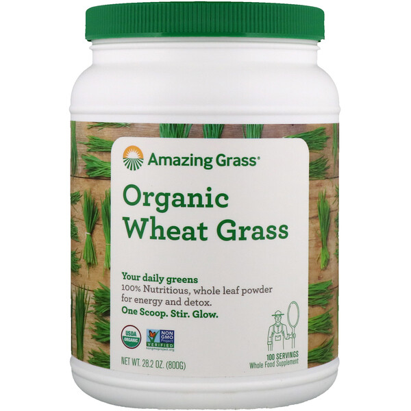 Organic Wheat Grass, 1.8 lbs (800 g)