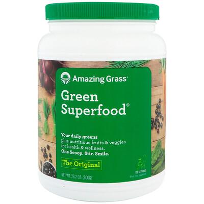 Купить Amazing Grass Green Superfood, оригинальный вкус, 800г (28, 2унции)