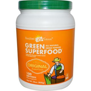 Amazing Grass, Green Superfood, All Natural Drink Powder, 28 oz (800 g)