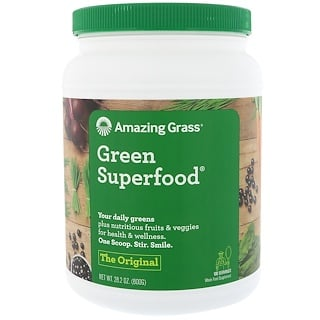 Amazing Grass, Green Superfood, The Original, 28.2 oz (800 g)