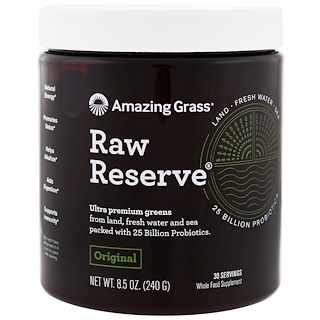 Amazing Grass, Raw Reserve, Original, 8.5 oz (240 g)