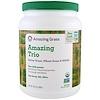 Amazing Grass, The Amazing Trio, Barley Grass & Wheat Grass & Alfalfa, 28.2 oz (800 g)