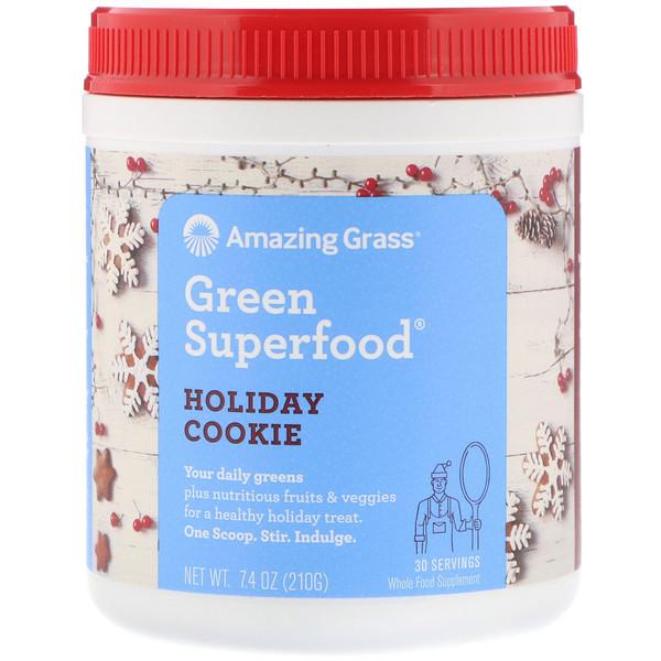 Amazing Grass, Green Superfood, Pumpkin Spice, 8.5 oz (240 g) (Discontinued Item)