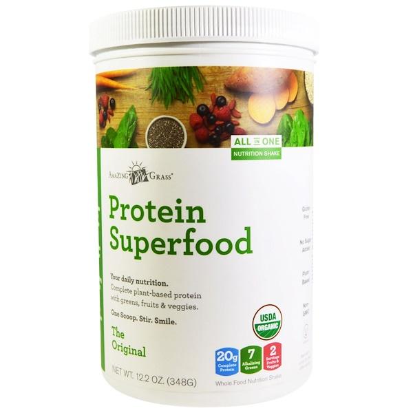 Amazing Grass, Organic Protein Superfood, The Original, 12.2 oz (348 g)