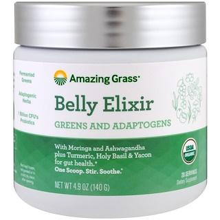 Amazing Grass, ベリーエリクサー、緑色食品・アダプトゲン、4.9 oz (140 g)