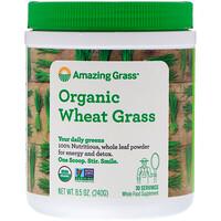 Органические ростки пшеницы, 8.5 унций (240 г) - фото