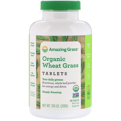 Купить Таблетки из органических ростков пшеницы, 200 таблеток