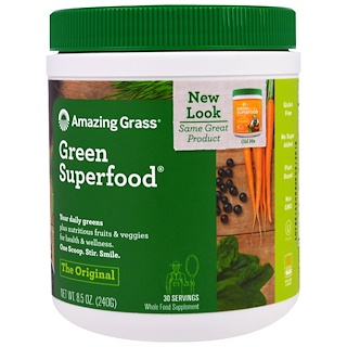 Amazing Grass, Green Superfood Original, 8.5 oz (240 g)