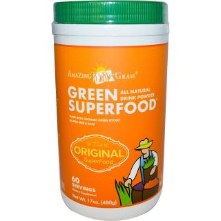 Amazing Grass, Green Superfood 오리지널, 17 oz (480 g)