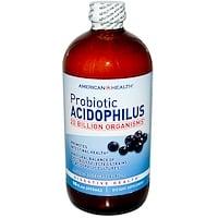 Пробиотик ацидофилус с натуральным черничным вкусом, 472 мл - фото