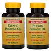 American Health, Royal Brittany, aceite de onagra, 1300 mg, 2 botellas, 60 cápsulas suaves cada una