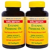 American Health, Royal Brittany、Evening Primrose Oil、1300 mg, 2 Bottles、60 Softgels Each