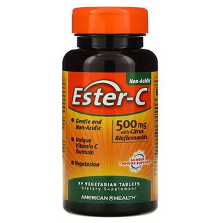 American Health, Ester-C 酯化維生素 C,500 毫克,90 片素食片