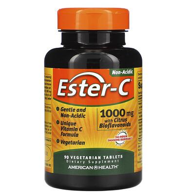Купить American Health Ester-C, 1000мг, 90вегетарианских таблеток