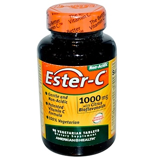 American Health, Ester-C, 1000 mg, 90 Veggie Tabs