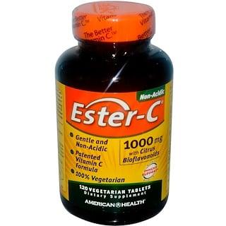 American Health, Ester-C®(エステル-C)、1000 mg、120べジ錠