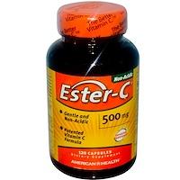 Ester-C, 500 мг, 120 капсул - фото