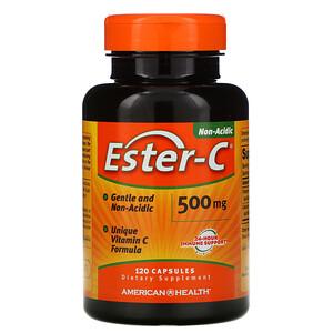 Американ Хелс, Ester-C, 500 mg, 120 Capsules отзывы