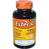 Эстер-С, порошок с цитрусовыми биофлавоноидами, 4 унции (113,4 г) - фото