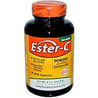 Ester-C, порошок с цитрусовыми биофлавоноидами, 8 жидких унций (226.8 г) - фото