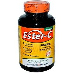 American Health, Ester-C, порошок с цитрусовыми биофлавоноидами, 8 жидких унций (226.8 г)