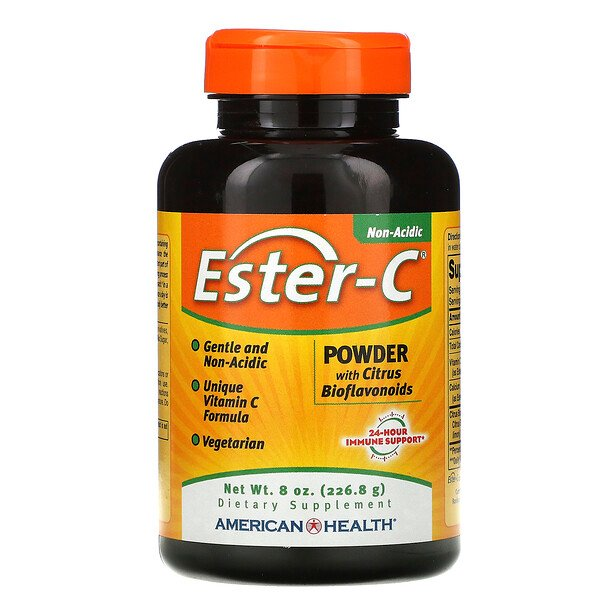 Ester-C, Powder with Citrus Bioflavonoids, 8 oz (226.8 g)