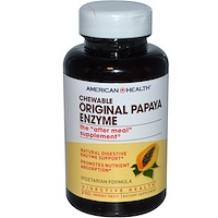 Жевательный оригинальный фермент папайи, 250 жевательных таблеток - фото