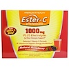 American Health, Ester-C Effervescent, Natural Raspberry Flavor, 1000 mg, 21 Packets, 0.35 oz (10 g) Each